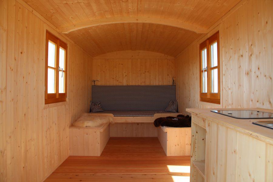 BoWo-Forstwagen-Bett