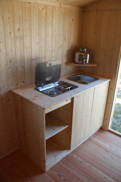 BoWo-Forstwagen-Küchenschrank